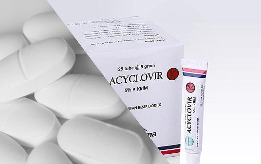 Obat Herpes Tablet Acyclovir
