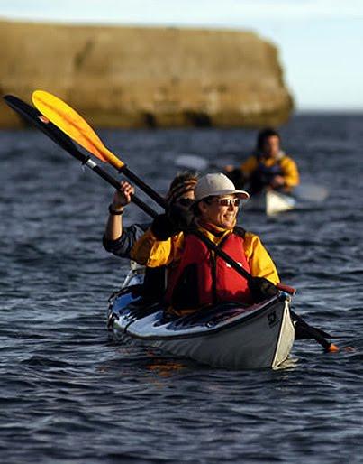 kayak  Puerto Piramides Península Valdés