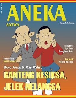 cover majalah aneka satwa