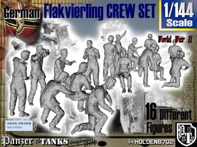 1-144 Flak Crew Set picture 1