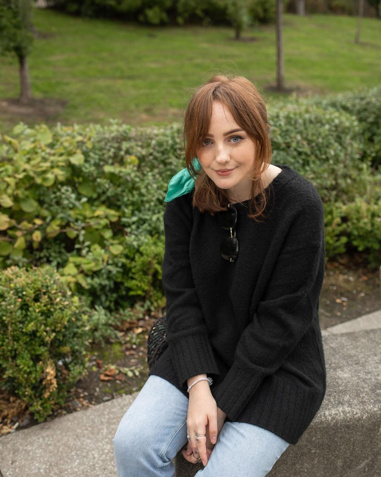 blogger styling oversized jumper autumn 2018