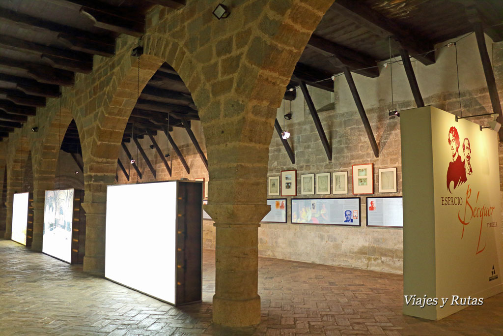 Monasterio de Veruela, espacio Becquer