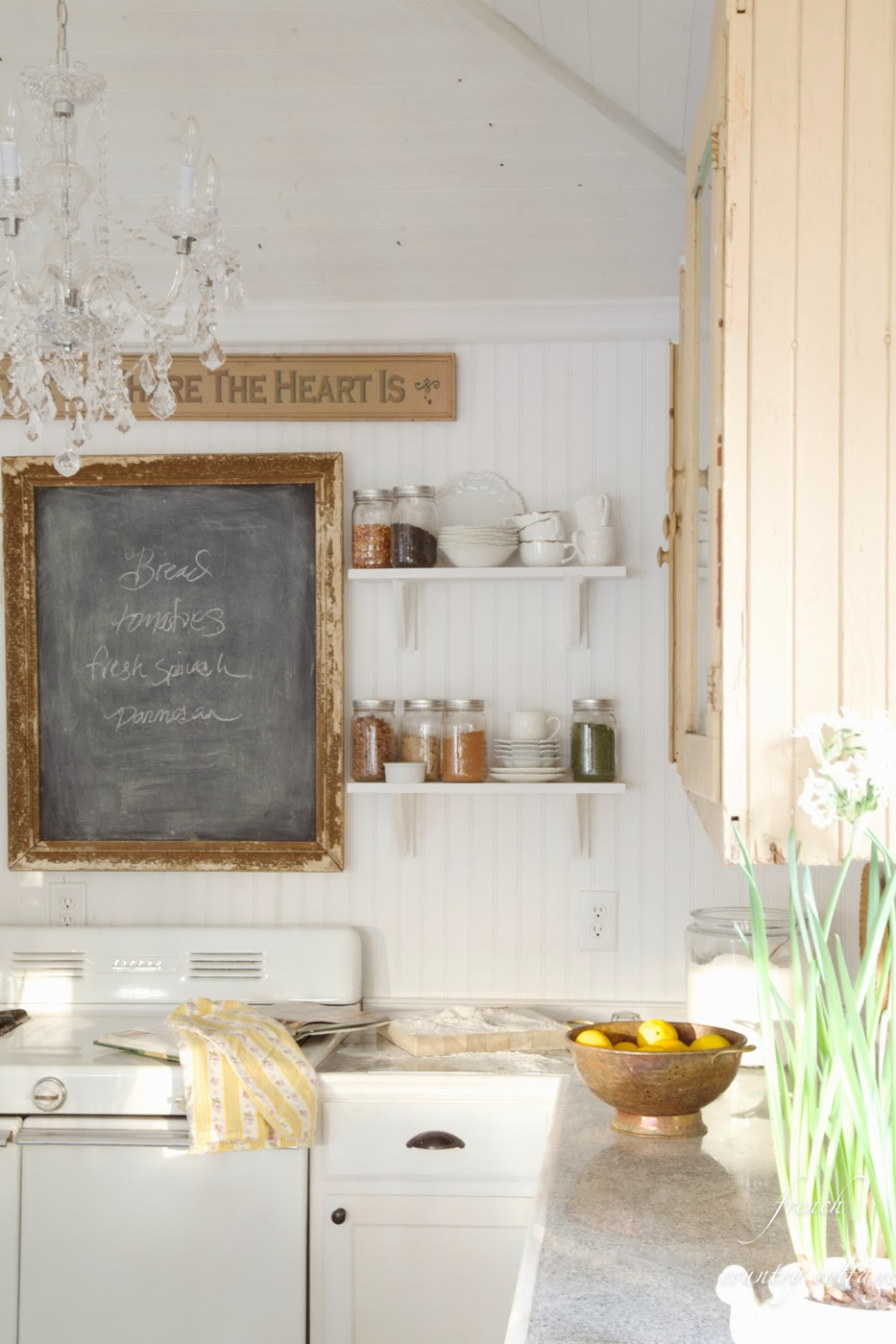 Country Storage Ideas: FRENCH COUNTRY COTTAGE
