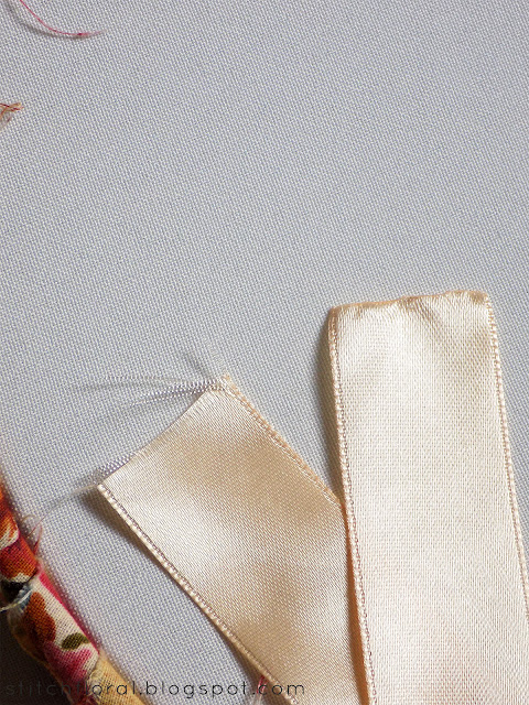Ribbon embroidery for beginners