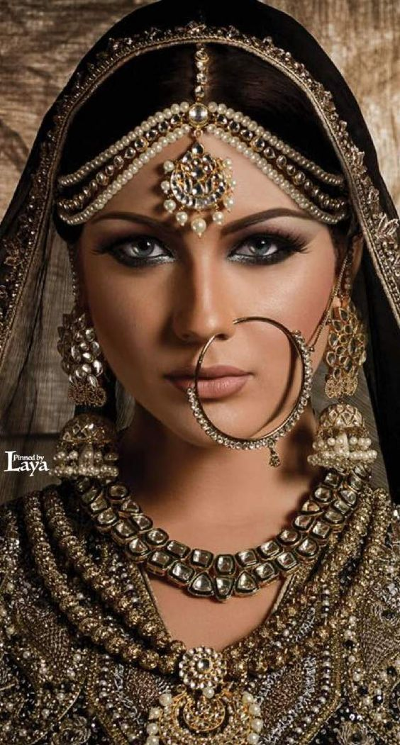 20 Stylish Bridal Nose Ring Designs || Significance of Nath in ...