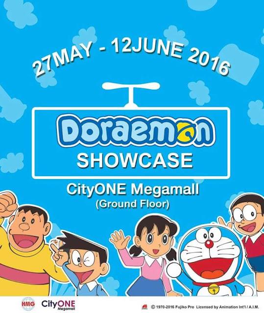Doraemon Di CityOne Megamall