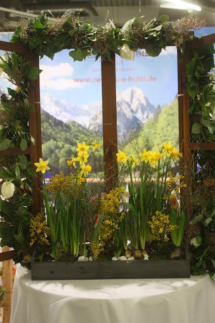 Beste Aussichten Fenster, Hochzeitstage München 2017 AVR MOC Stand Riessersee Hotel Garmisch-Partenkirchen, wedding fair Munich 2017