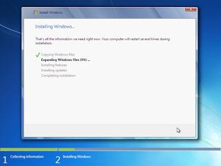 akhirnya sampai juga pada artikel dimana kita akan membahas tentang instalasi ulang kompu Tutorial Cara Install Ulang Windows 7 Lengkap + Gambar
