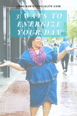 3 Ways to Energize Your Day, The Paris Market, Broughton Street, The Low Country Socialite, Plus Size Blogger, Savannah Georgia, Hinesville Georgia, Kirsten Jackson