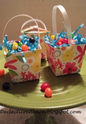 Eclectic Red Barn: Easter Mini Box Favors