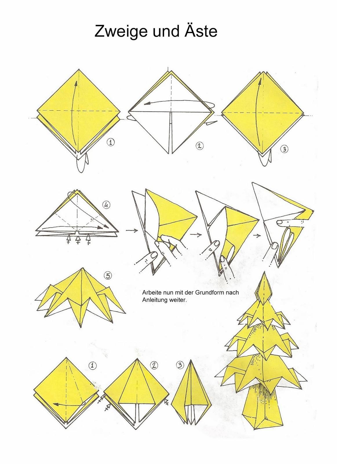 artistoires mach es selbst origami tannenbaum christbaum weihnachtsbaum. Black Bedroom Furniture Sets. Home Design Ideas