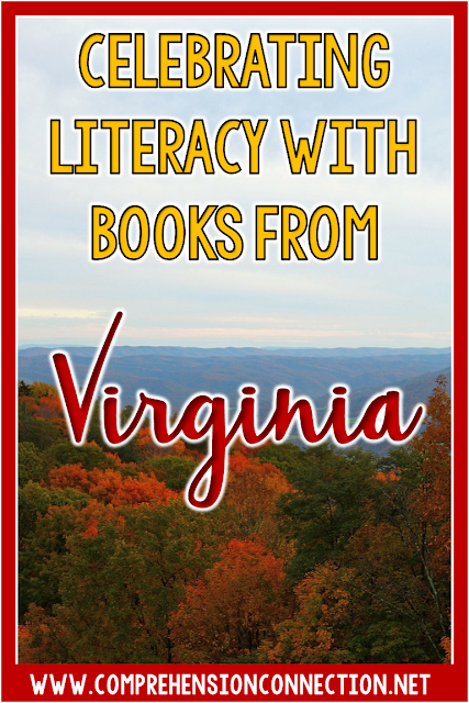 Celebrate literacy with books from Virginia and teach a little Virginia history too with these ideas for The Relatives Came.