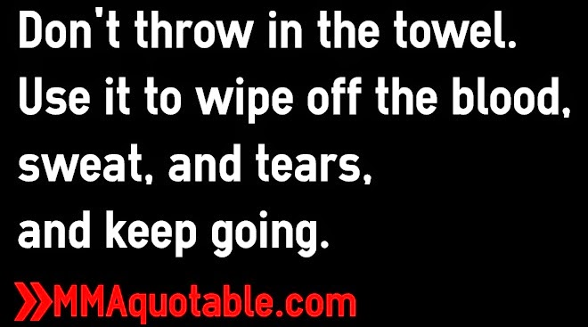 Throwing In The Towel Quotes Impressive Throwing In The Towel Quotes  The Best Quotes & Reviews
