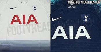 724b7d496 Nike Tottenham Hotspur 18-19 Home   Away Kits Leaked