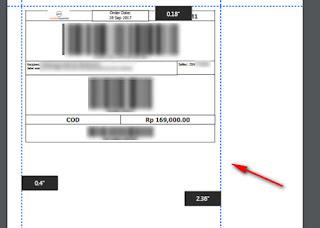 Cara memperkecil cetak dokument lewat browser