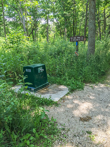 Water Station near the the Southern Kettle Moraine State Forest Headquarters