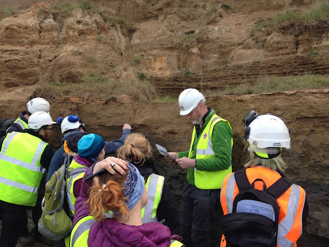 tting stuck-in at understanding the geology and Happisburgh