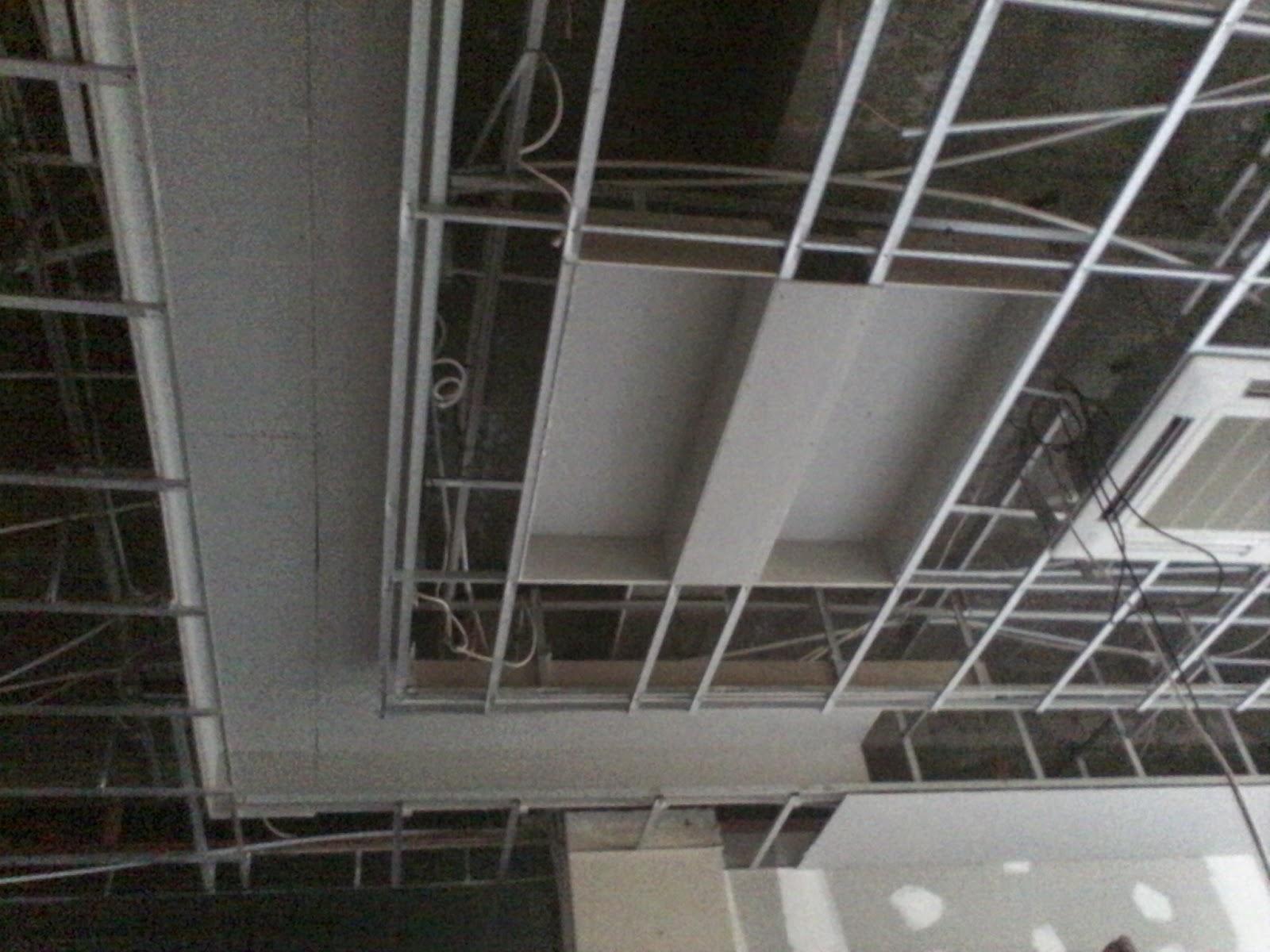 contoh rangka atap baja ringan minimalis jasa tukang plafon gypsum pamekasan dan sekitarnya