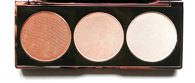Nude By Nature Highlight Palette Review, Nude By Nature Highlight Palette Swatches