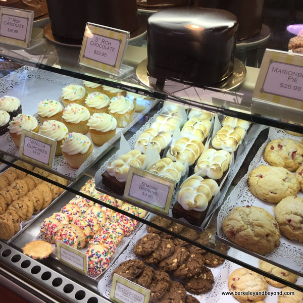 cookies and cupcakes at Gayle's Bakery in Capitola, California