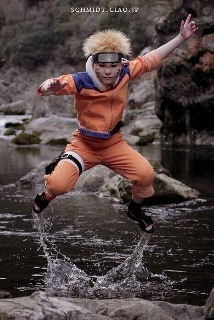 Animation New Cool Uzumaki Naruto Cosplay