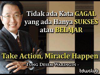 Tung Desem Waringin; Pembicara Seminar Paling Top