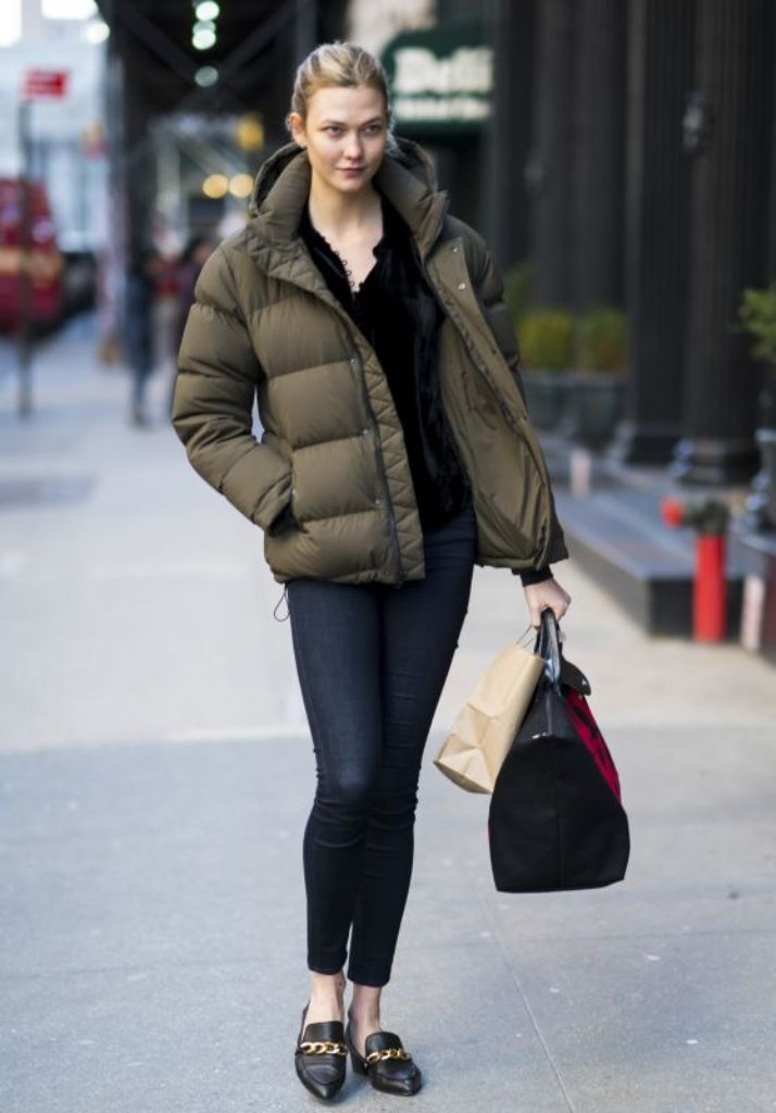 Karlie Kloss Street Style Out in New York Photos