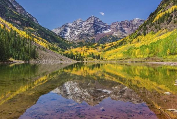 Colorado Maroon Bells, Elk Mountains