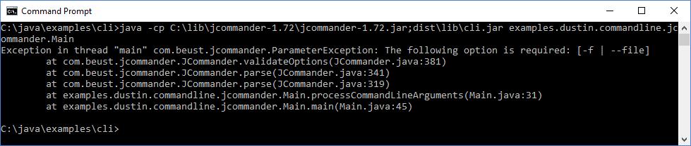 Java Command-Line Interfaces (Part 7): JCommander - DZone Java