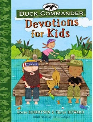 Duck Commander Devotions for Kids cover