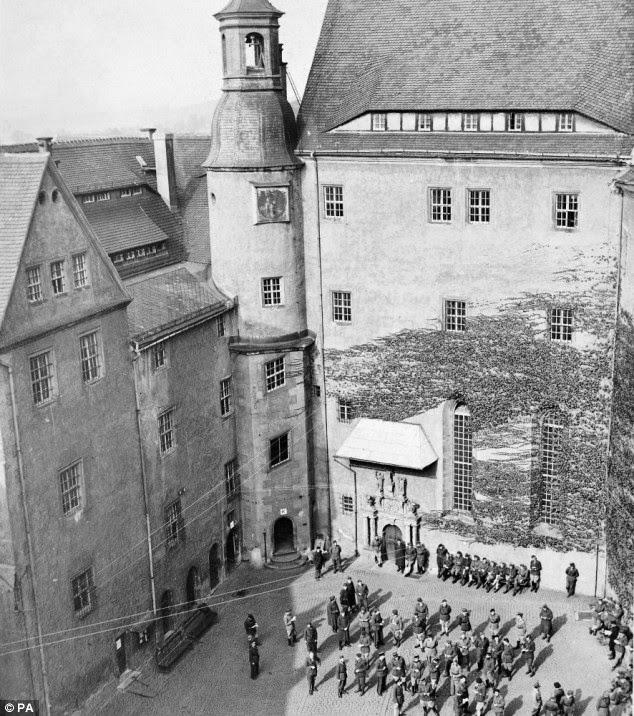 Prisioneros Castillo de Colditz