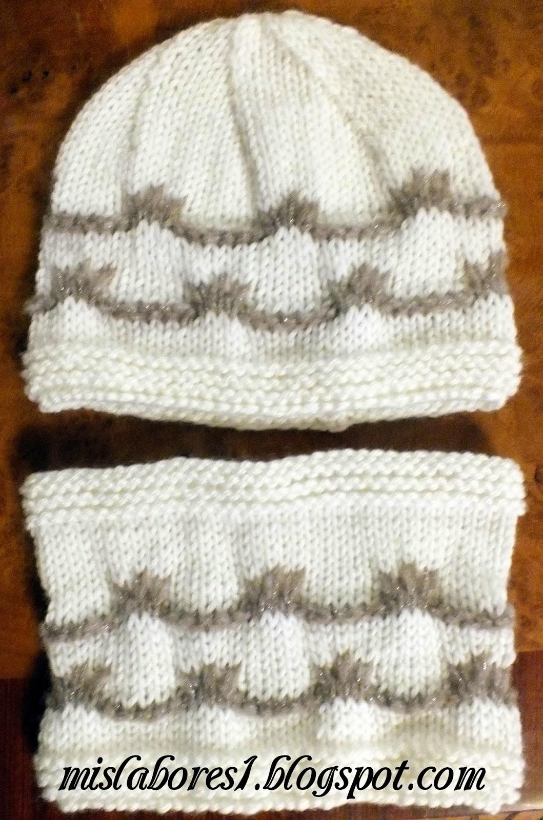 Talla 2 3 años. Materiales necesarios  100g de lana Merino Aran de Katia y  un poco de lana de otro color 01602bc9f30