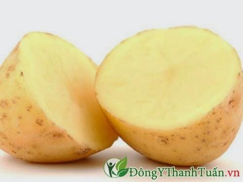 Khoai tây là thảo dược chữa đau dạ dày
