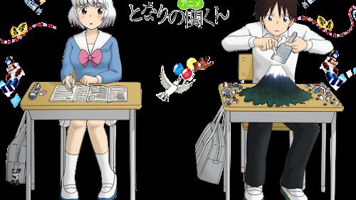 Descargar Tonari no Seki-kun [21/21] + OVA [Mega] [HD]
