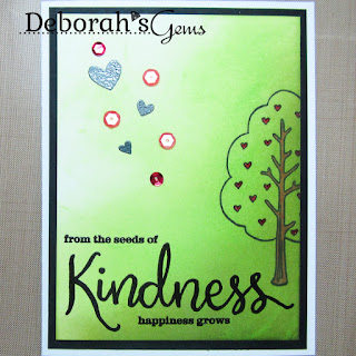 Kindness sq - photo by Deborah Frings - Deborah's Gems