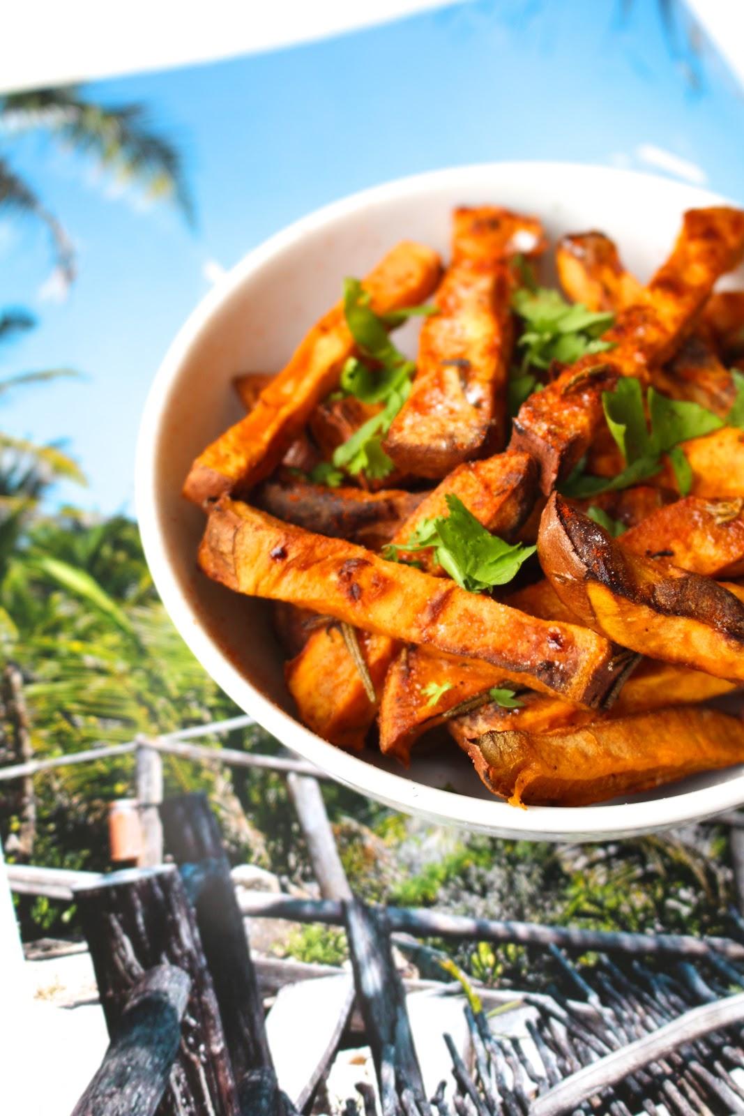 Easy & basic sweet potato fries recipe