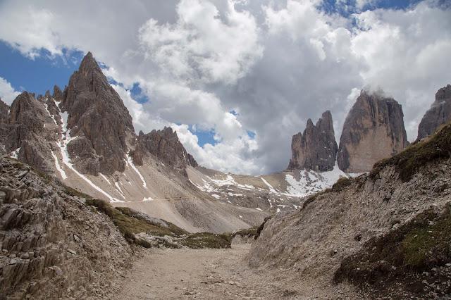 Rundtour Drei Zinnen - Dreizinnenhütte  Wanderung Sextner Dolomiten  Wandern Südtirol  Tourenbericht Tre Cime di Lavaredo  GPS-Track 14