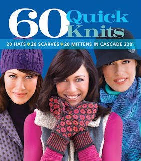 thoughts on 60 Quick Knits by Cascade Yarns