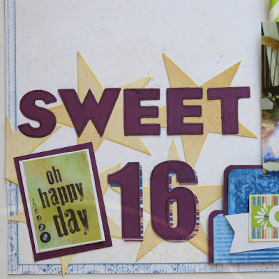 Sweet Sixteen featuring Mulberry Paper Collection by Quick Quotes designed by June Swart