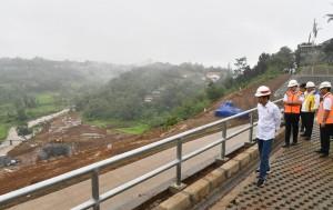 Target Selesai 2019, Presiden: Bendungan Ciawi dan Sukamahi untuk Atasi Banjir di Jakarta