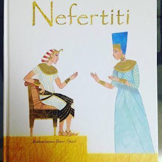 Nefertiti, album ilustrado, book kids, solo yo,