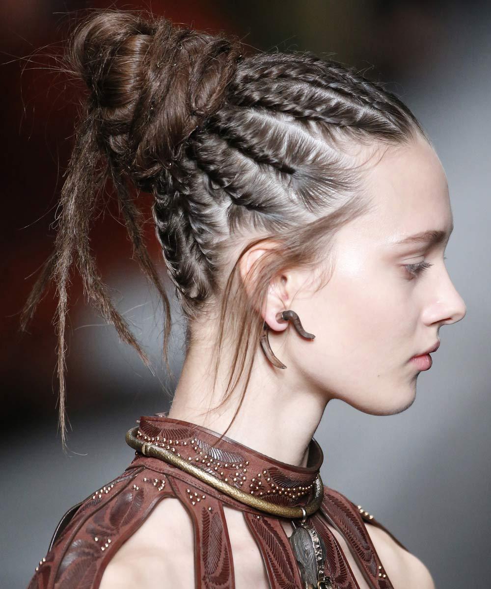 Exquisito imagenes de peinados Colección De Cortes De Pelo Tutoriales - La moda en tu cabello: Lindos peinados con trenzas /2018