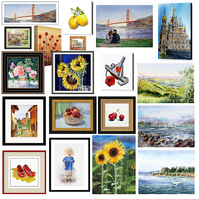 art that sells watercolor paintings