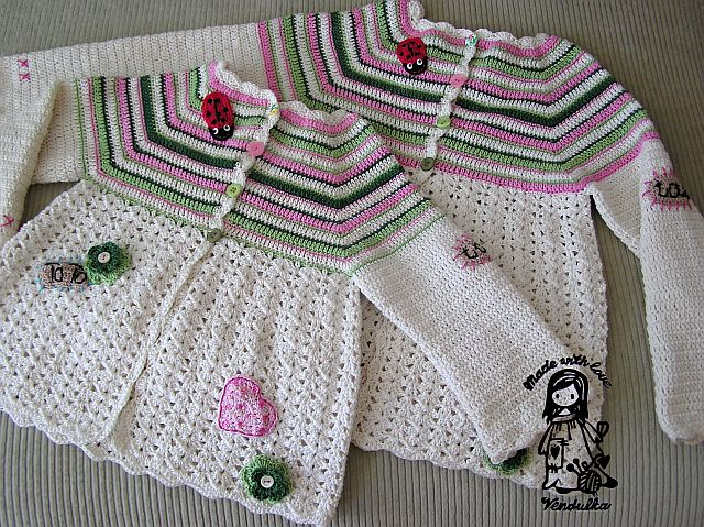 Flower Cardigan Updated Version February 2013 Magic With Hook