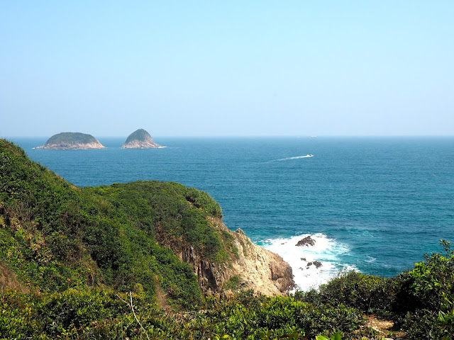 Coastal views along the Tai Long Wan hiking path, Hong Kong