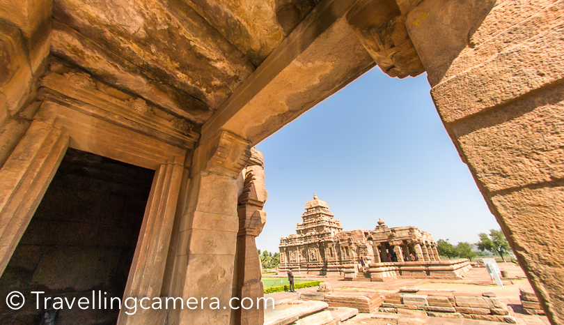 All these temples look beautiful and I tend to forget names of these temples. Thanks to all the notes I had taken when our guide was telling about these temples and history associated. We would be sharing a different post about Pattadakal and it's temples. Hopefully I would be able to share details in clearer way.