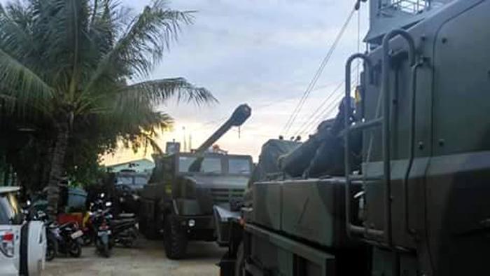Howitzer Caesar 155mm