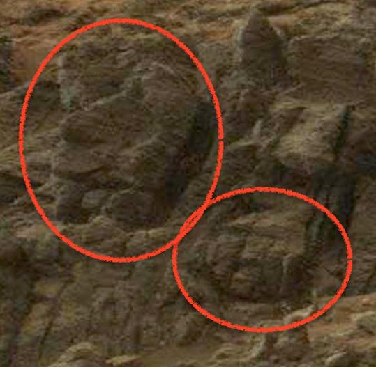 UFO SIGHTINGS DAILY: Nine Faces On Mars In NASA Photo! Feb ...