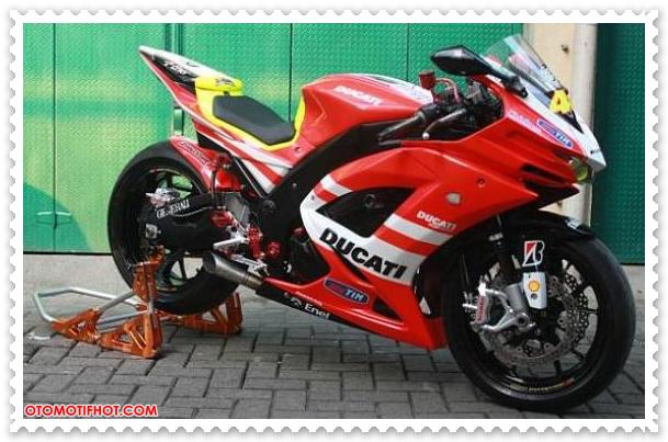 Foto Modifikasi Kawasaki Ninja 250 R
