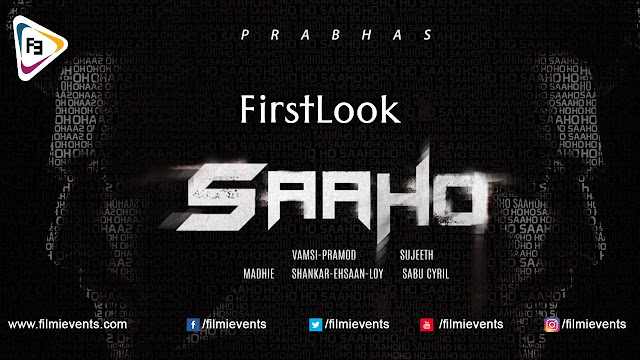 Sahoo first Look Hd Images | Teaser|  Release Date Has Come Out